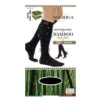 SOCKS FY BAMBOO SQUARE BL M